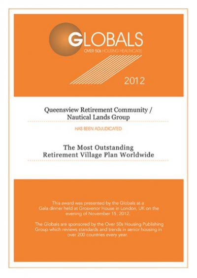 Globals Over 50s 2012